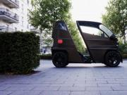 德国企业发布一款可伸缩微型电动汽车iEV X 可续航120公里