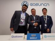 吉利与高通和高新兴合作,推中国首款5G和支持C-V2X技术的汽车