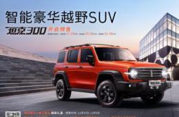 满足更多用车需求,坦克300领跑广州车展购车清单